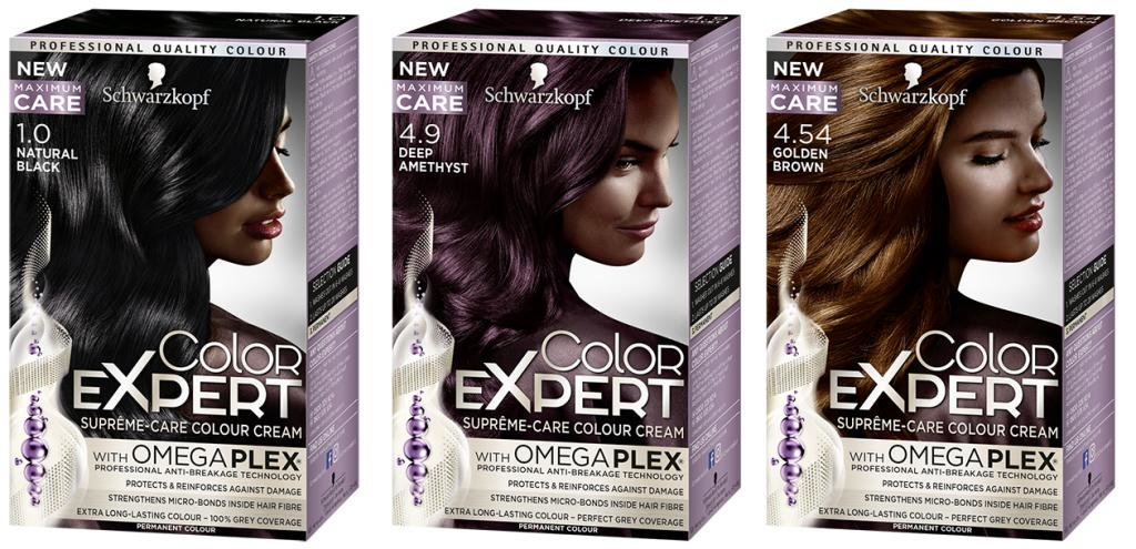 Краска для волос Hair Color Experts Schwarzkopf