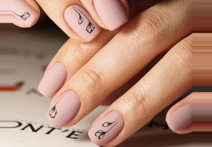 как сделать маникюр на короткие ногти
