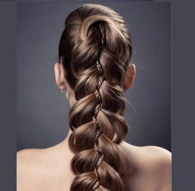 Пышные косы на длинные волосы: виды и техника плетения волос, фото