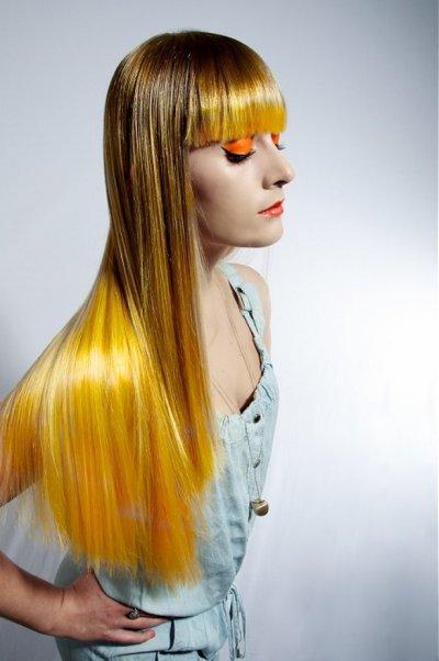 Ярко-желтые волосы: модный цвет, описание с фото, выбор краски для волос, способы нанесения, особенности и нюансы ухода за волосами после окраски