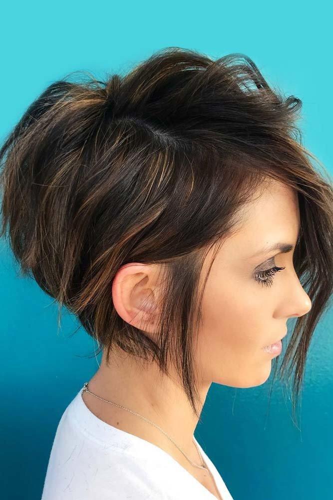 волосы на одну сторону
