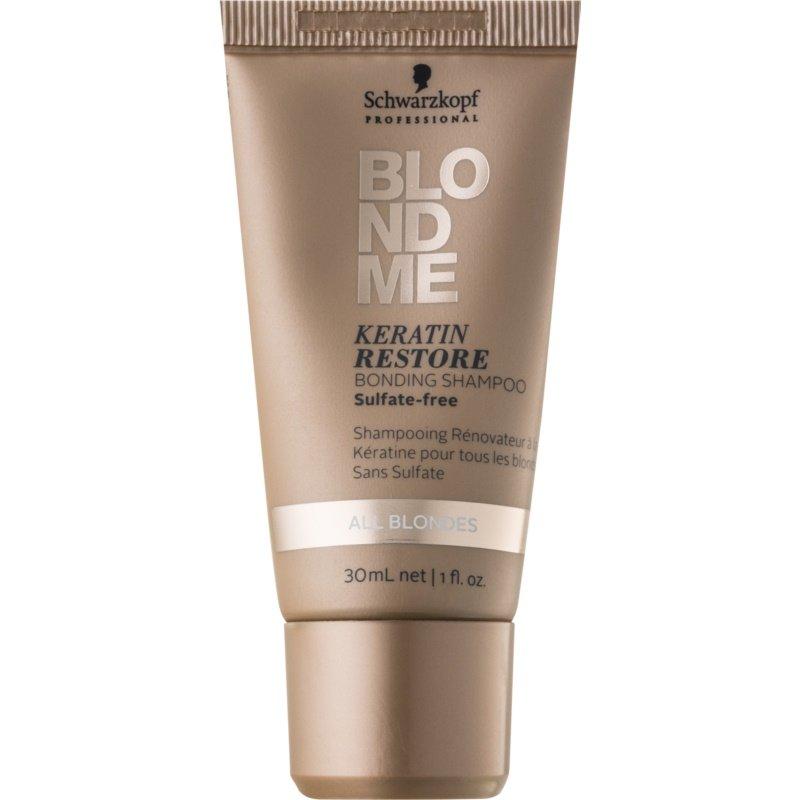 Восстанавливающий шампунь для осветления волос.