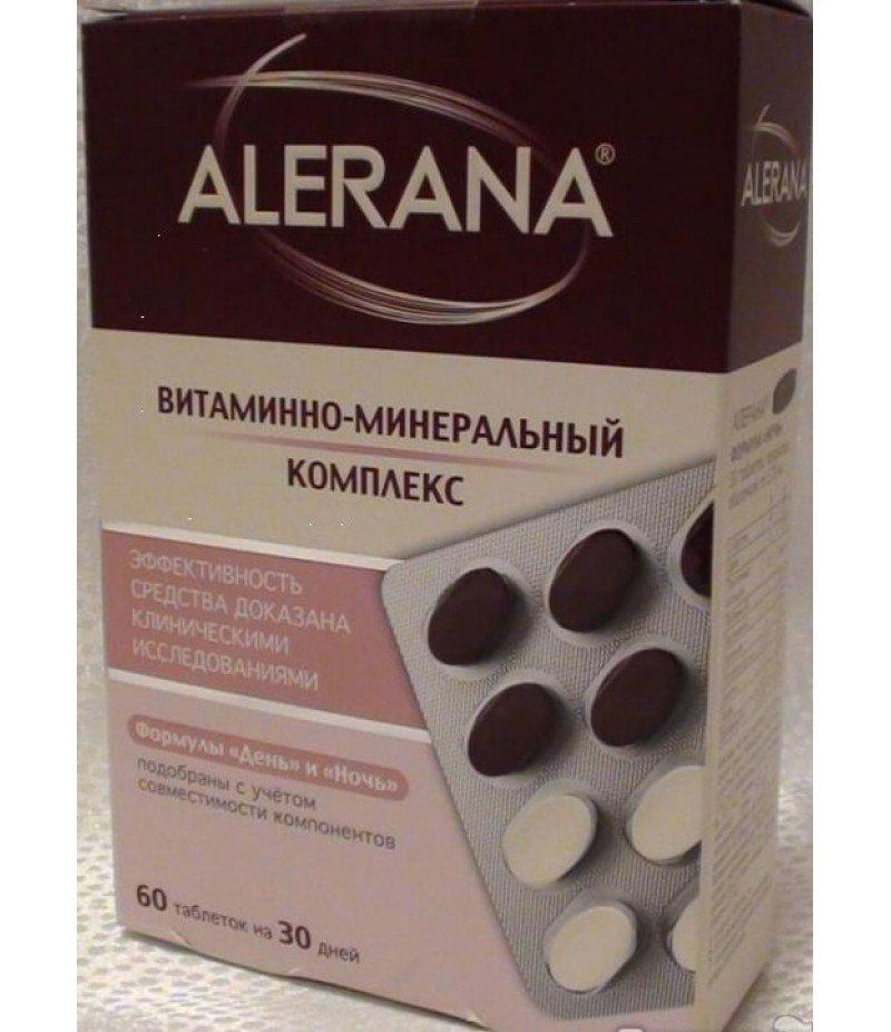 Витаминно-минеральный комплекс Alerana.