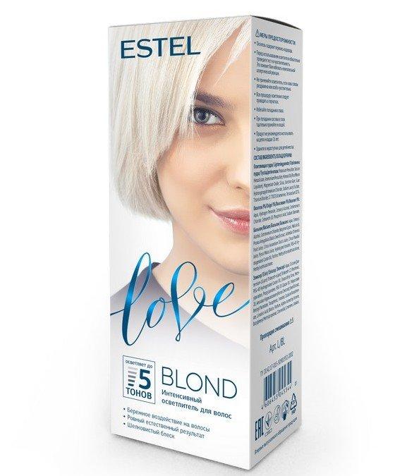 Щадящий осветлитель для волос