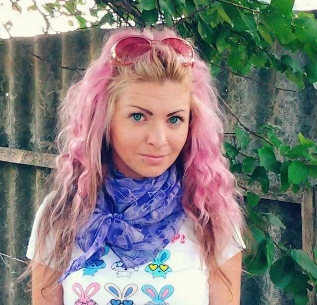 Дымчато-розовая Тоника на русые волосы
