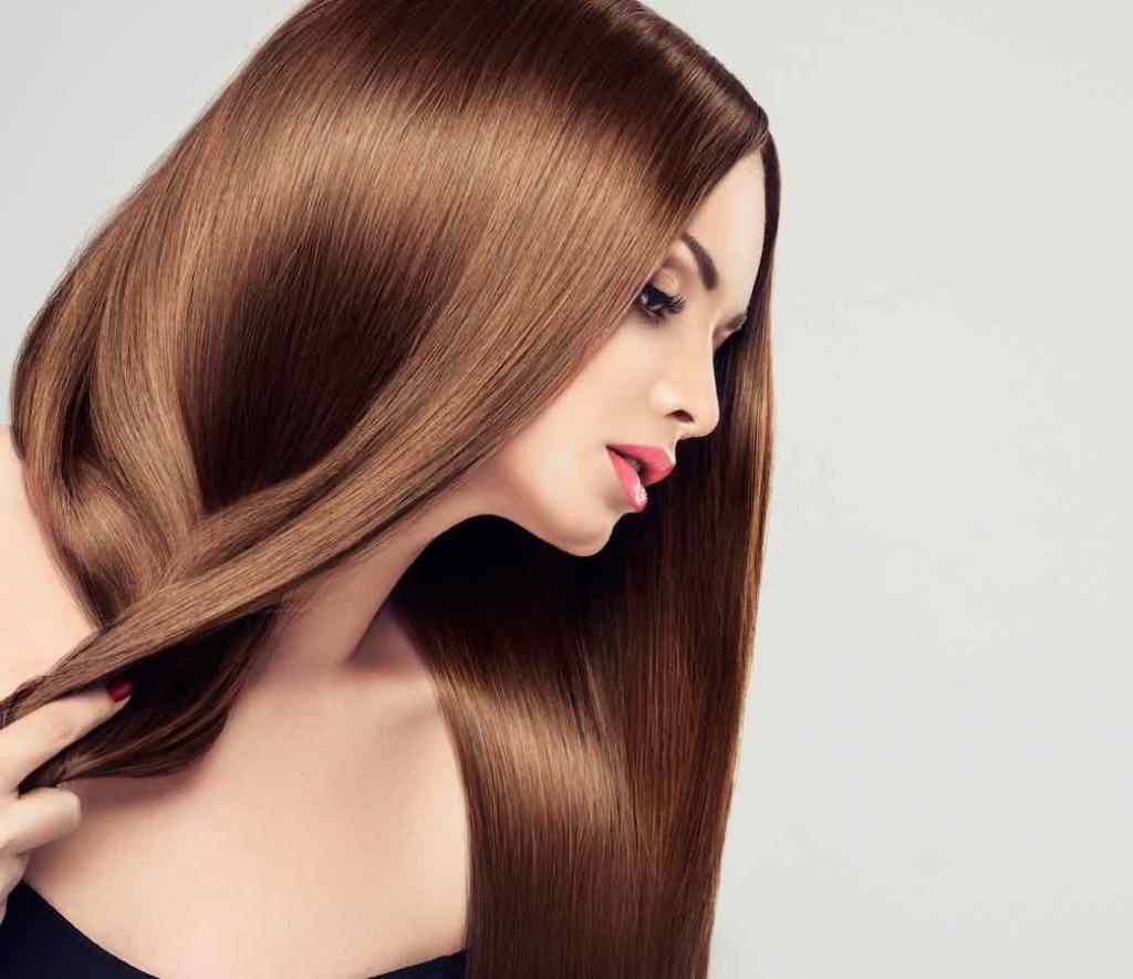 как вытянуть правильно волосы феном