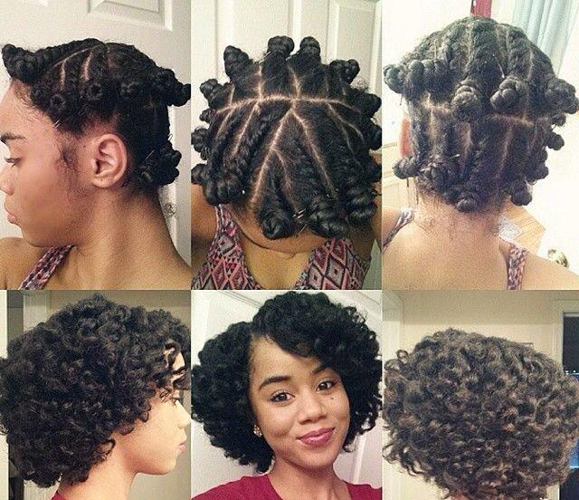Холодная завивка волос