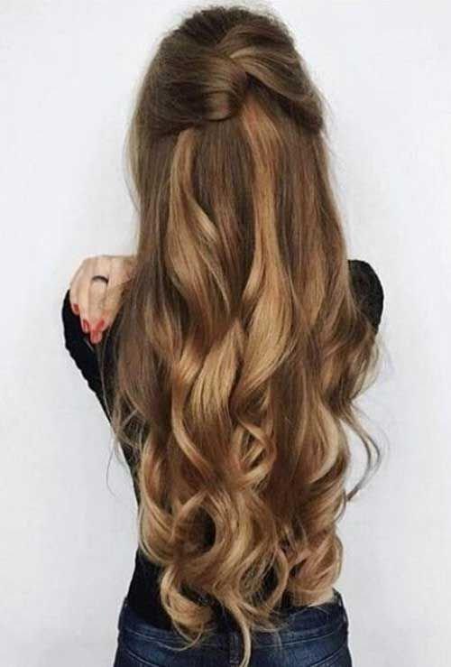 укладка волос на длинные волосы фото