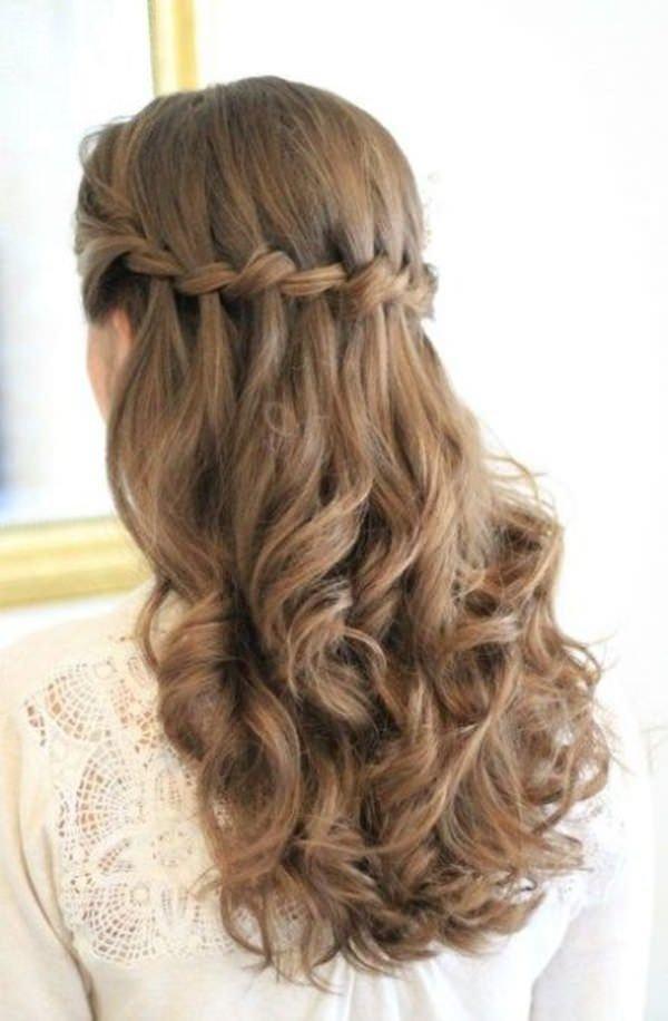 укладка на длинные волосы фото