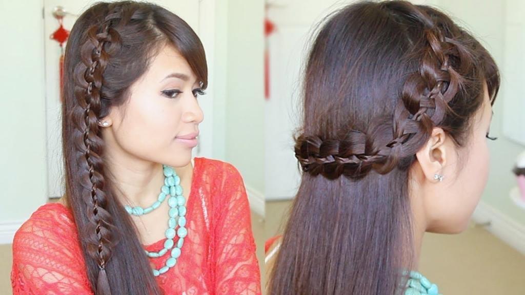 красивые укладки на длинные волосы фото