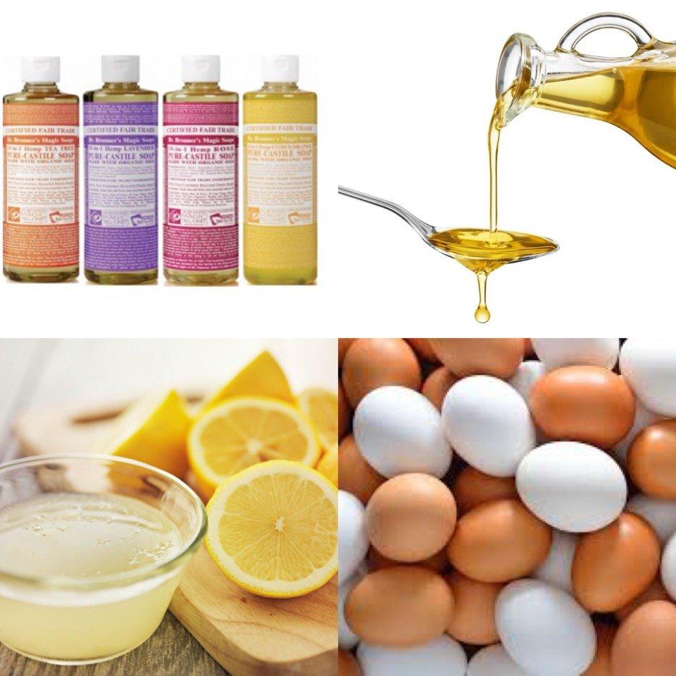 яичный шампунь в домашних условиях отзывы