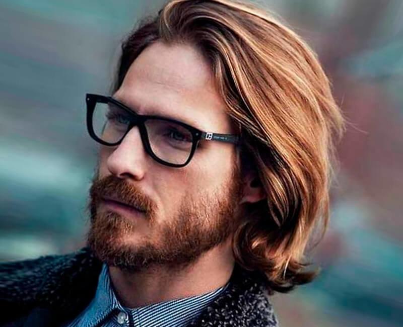 Классическая стрижка на длинные волосы