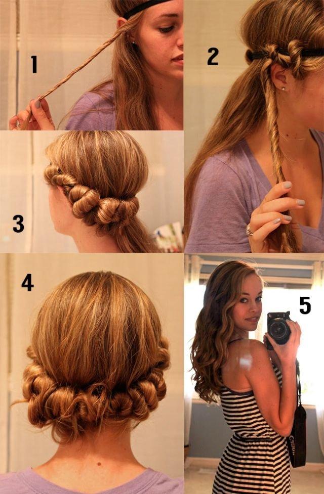 Как завить длинные волосы