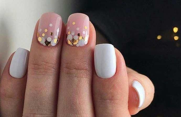 круглые украшения для ногтей