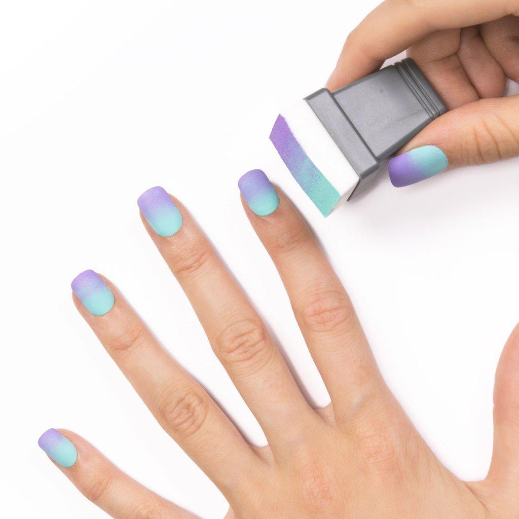 омбре на ногтях как сделать