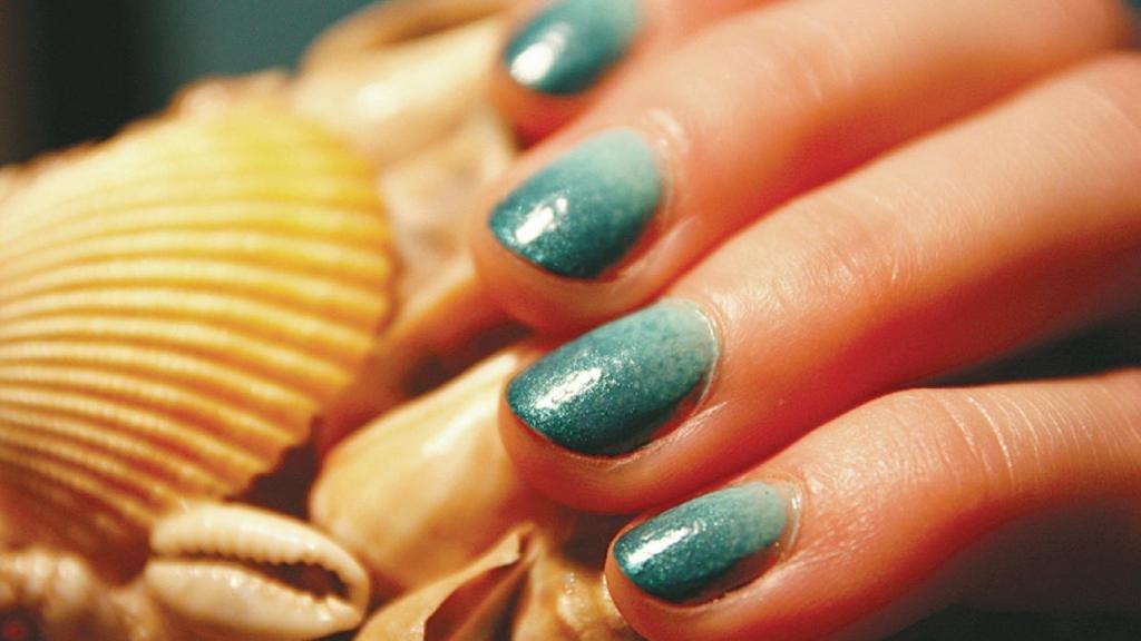 омбре на ногтях в домашних условиях