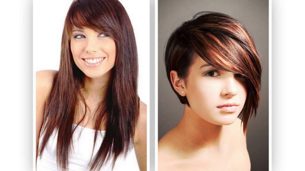 стрижки модельные на волосы средней длины