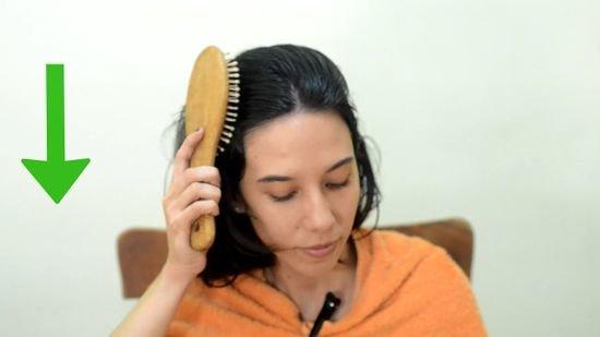 красить длинные волосы