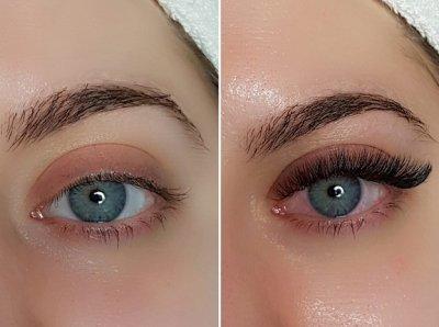 Ресницы 2Д-эффект: техника наращивания, выбор материалов, советы опытных косметологов, фото