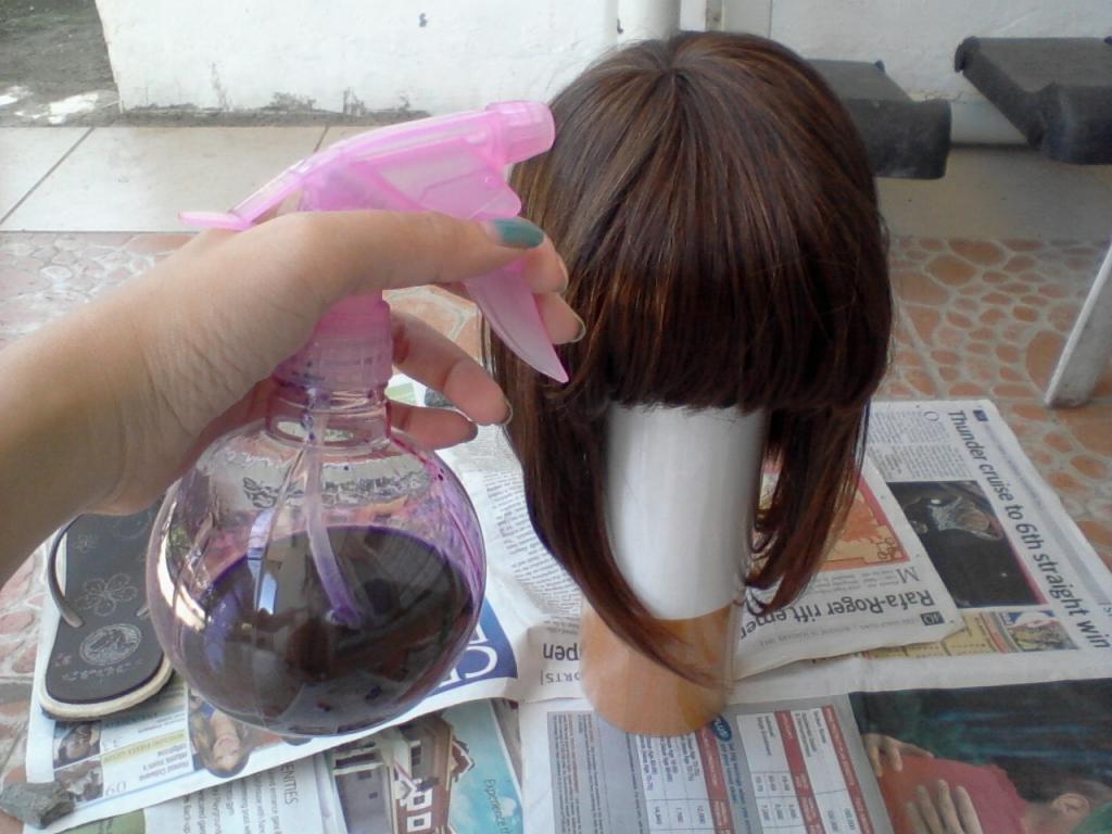 можно ли искусственные волосы покрасить