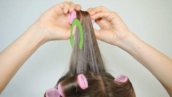 инструкция накручивания волос на термобигуди
