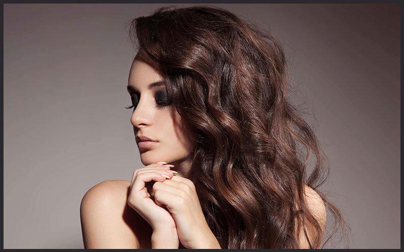 Вертикальная завивка на средние волосы фото