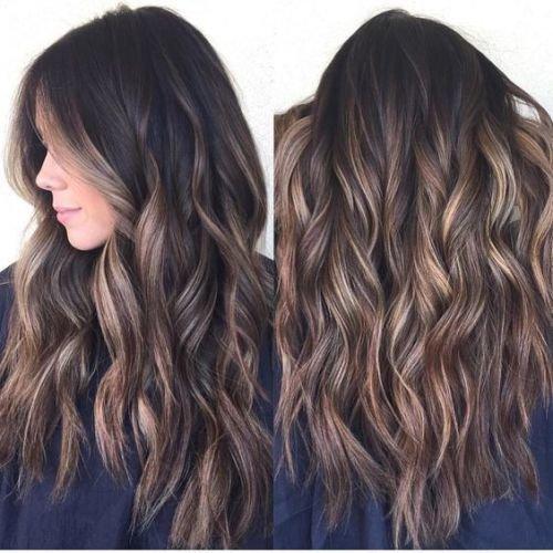 кому идет коричневый цвет волос