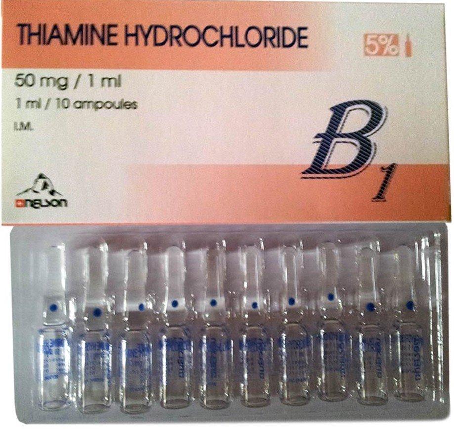 тиамин в ампулах