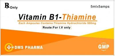 Витамин В1 в ампулах: инструкция по применению для волос