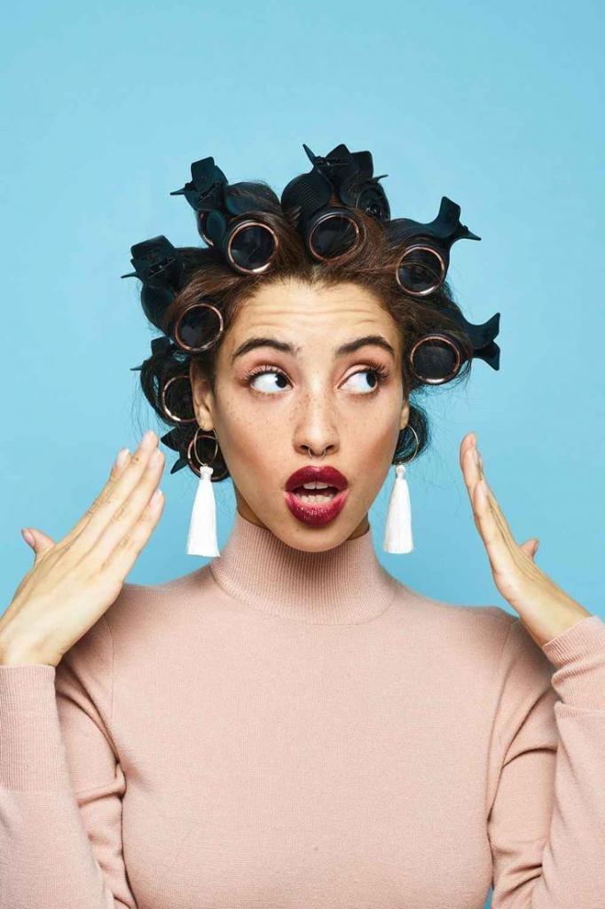 сколько держать на волосах термобигуди