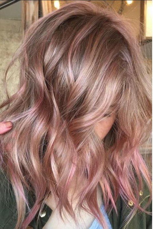 окрашивание волос модные цвета