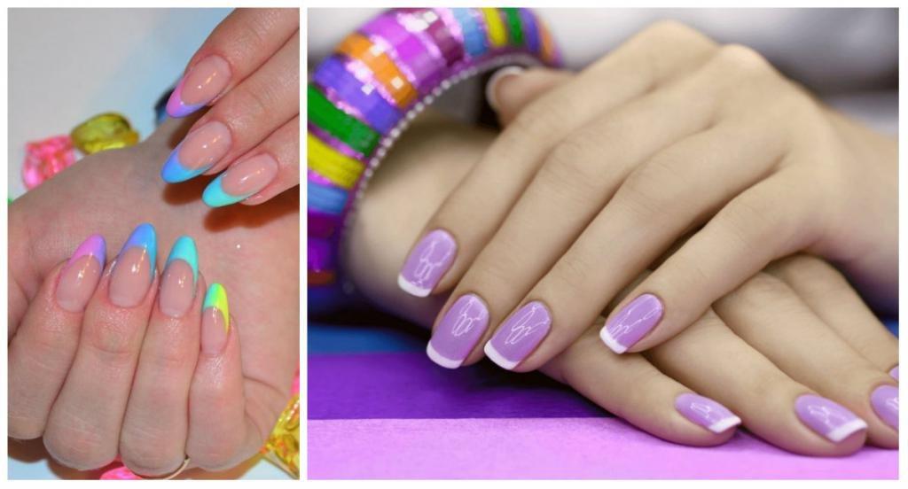 Дизайн ногтей летний френч фото новинки