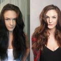 Как выйти из черного цвета волос: безопасные способы. Обесцвечивание волос