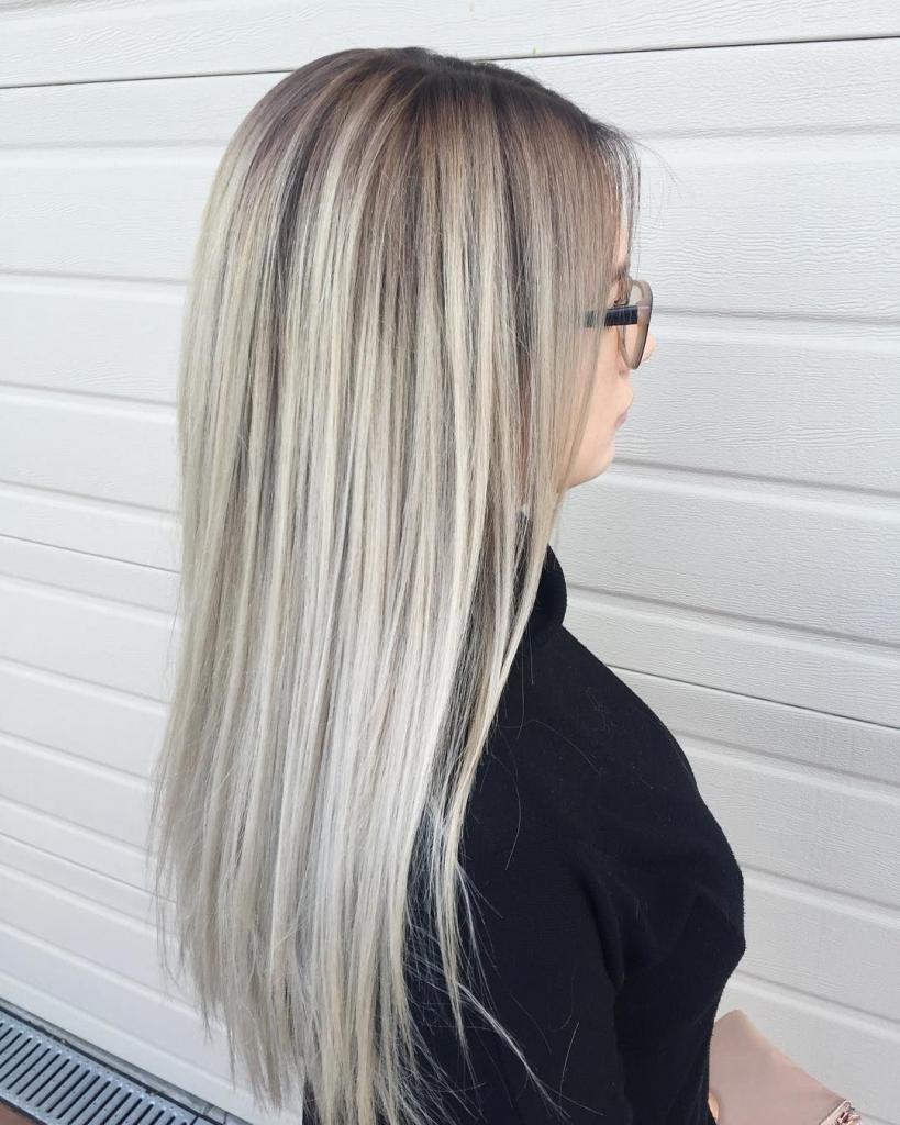 Серый блонд