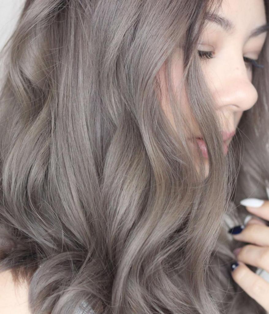 Русый серый