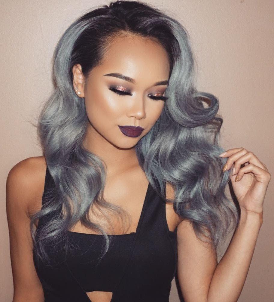 Стильный серый