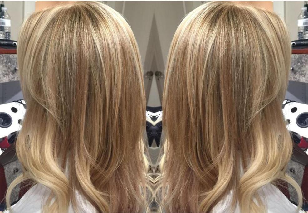 колорирование с бежевым цветом волос