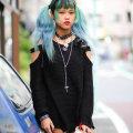 Новая мода - волосы, как в аниме