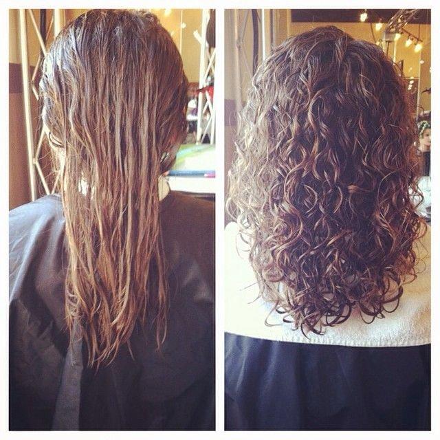 химическая завивка волос щадящая