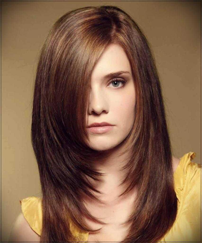 стрижки волос на длинные волосы фото записывает песни